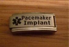 Italian Charms  L7 Superlink  Medical Alert  Pacemaker Implant