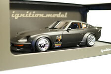 Fairlady 240ZG (HS30) Full Works Matte Black IGNITION MODEL 1/18 #IG0957