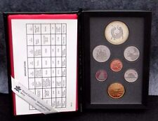 CANADA - SERIE DIVISIONALE 7 MONETE 1988 _ PROOF SETS _  250° forgia S. Maurice