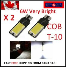 2PCS T10 W5W 194 168 6W LED No Error COB Canbus Side Lamp Wedge Light White DRL