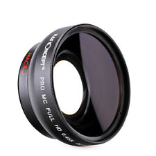 58MM 0.45X Wide Angle Attachment Lens Macro Close Up Portion for Canon Nikon