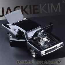 DODGE CHARGER 1970 Alloy Diecast 1/32 Car Model THE FAST & FURIOUS Black