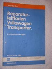 Bus T3 Reparaturhandbuch Reparaturbuch 1,9 Motor+Einspritzung+Zündung+Diagnose