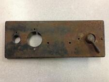 Early FORDSON TRACTOR P6 Gauge Panel w/ Switch E27N PERKINS DIESEL
