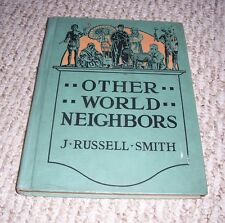 1939 Other World Neighbors British Empire Africa Asia J Russell Smith Schoolbook