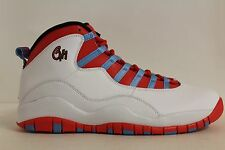 MEN'S NIKE AIR JORDAN 10 RETRO CHICAGO CITY PACK 310805 SIZE 12 NEW