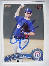 CODY BUCKEL signed RANGERS 2011 Topps Pro Debut baseball card Autographed AUTO