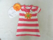 NEW Set Girls Children's Place Sweater Dress 9/12 mo Kuffi Hat & Flower $34