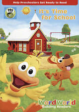 WordWorld: It's Time For School DVD,Very Good DVD, .,