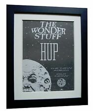 THE WONDERSTUFF+HUP+POSTER+AD+ORIGINAL 1989+TOP QUALITY FRAMED+FAST GLOBAL SHIP