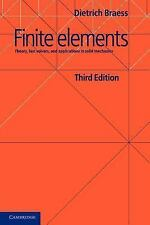 Finite Elements : Theory, Fast Solvers, and Applications in Solid Mechanics...