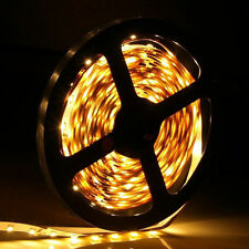 Car Boat Decor Waterproof Warm White 16ft 3528 SMD 300 LEDs Strip Light Flexible