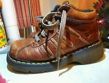 Doc Dr. Martens 2C01 Brown Ankle Lace Up Boots Men's US 6 | Women's 7 High Top