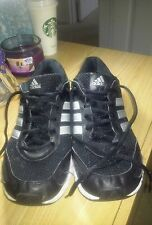 Male Adidas black running shoes size 9.5