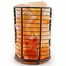 Natural Himalayan Ionic Air Purifier Rock Crystal Salt Lamp Night Light Tower
