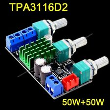 TPA3116D2 2.0CH Class D 50W+50W High Power Stereo Digital Amplifier Board 2x50W