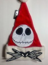 Tim Burton's The Nightmare Before Christmas Jack Santa's Hat NWT