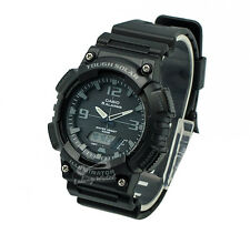 -Casio AQS810W-1A2 Analog Digital Tough Solar Watch Brand New & 100% Authentic