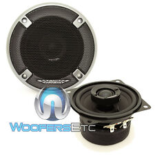 "IMAGE DYNAMICS ID4 CAR 4"" AUDIO 2-WAY SILK DOME TWEETERS COAXIAL SPEAKERS NEW"