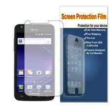 7x Samsung Galaxy S II Skyrocket SGH-i727 Clear LCD Screen Protector Guard