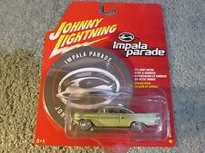 Johnny Lightning Yellow 1959 Chevrolet Impala - Mint in package with bonus disc!