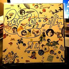 LED ZEPPELIN 3 VINYL LP JAPAN PRESS 1971 P-8005-A, AUDIOPHILE