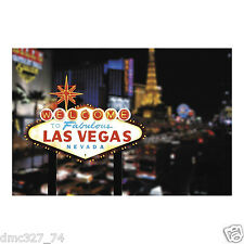 CASINO Poker Night Party Decoration Mural BACKDROP Photo Prop LAS VEGAS Strip