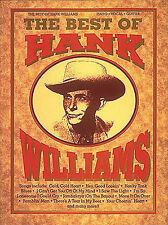 The Best Of Hank Williams Learn to Play COUNTRY Piano Vocal Guitar Music Book