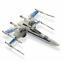 Disney Store Star Wars Force Awakens Resistance Die Cast Blue X-Wing Fighter NIB