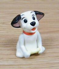 "Disney 101 Dalmatians ""Dog Holding Bone"" Plastic 2 1/2"" Tall Toy Figure Only"