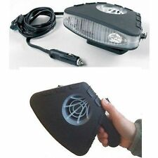 ELECTRIC CAR DASHBOARD HEATER HEATING/COOLING AID & FAN CERAMIC FITS UK CAR PLUG