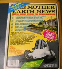 MOTHER EARTH NEWS MAGAZINE SEP/OCT 1983 CAST IRON COOKING EARTH SHELTER HOME