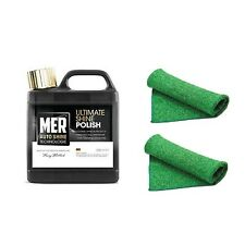 MER Ultimate Shine Polish - 500ml Bottle - 2 Free Microfibre Cloths Included!!