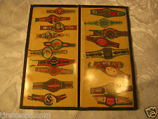 Old Cigar Band Lable Lot Collection Tobacciana vintage antique