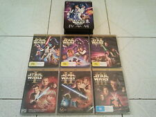 STAR WARS DVD LIMITED EDITION COLLECTION EPISODES 1-6