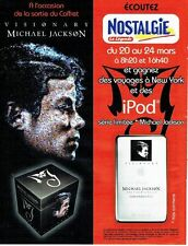 Publicité Advertising 037  2006  Michael Jackson  & Radio Nostalgie