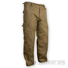 MILITARY ARMY PANTS US STYLE COMBAT BDU M65 TROUSERS CAMO BATTLE DRESS  RIPSTOP