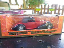 LESNEY MATCHBOX YESTERYEAR Y-17 HISPANO SUIZA 1938 rouge de 1973 neuf en boite