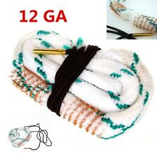 Bore Snake 12 Cal GA Gauge Boresnake Shotgun Barrel Bronze Cleaner Kit Hunting