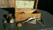 Walkers EXCELSIOR IV Ship Patent Log for YACHTS, Sailboats EXCELLENT in wood box