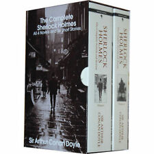 Complete Sherlock Holmes 4 Novels & 56 Short Stories in 2 Volumes (pb) Sir Doyle