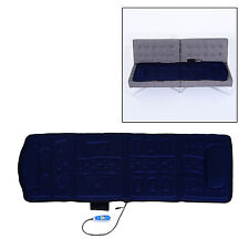 Soozier 10-Motor Plush Massage Mat Pad Heating Full Body Vibration Controller