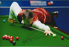 Ryan DAY AUTOGRAPH 12x8 Signed Photo AFTAL COA SNOOKER 2014 Sheffield Crucible