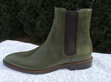 Lambertson Truex Mens Limited Edition Mens Shoes Size 10.5 Olive 100% Authentic