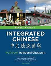 NEW Integrated Chinese : Level 1 Part 1 WORKBOOK   TRADITIONAL  9780887277337