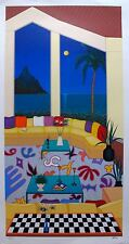 "FANCH LEDAN ""LIVING IN BORA BORA"" Hand Signed Limited Edition Serigraph"