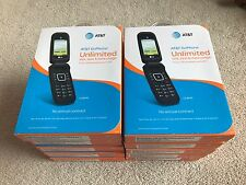 Lot of 10 LG B470 AT&T (Unlocked) Flip Phone.