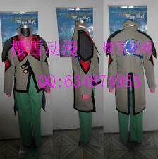 free shipping Tales of Graces Malik Caesars Cosplay Costume
