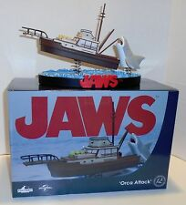 """JAWS """"ORCA ATTACK"""" Shakems Premium Motion Statue Factory Entertainment NEW"""