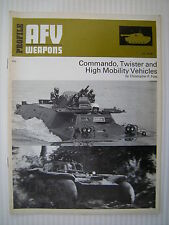 Profile AFV Weapons 62 - Commando, Twister and High Mobility Vehicles - Nov 1973